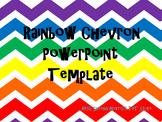 Rainbow Chevron PowerPoint Template