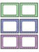 Rainbow Chevron Small Cards