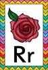 Rainbow Chevron Themed Alphabet Posters Frieze {UK Teachin