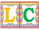 Rainbow Chevron Welcome Banner