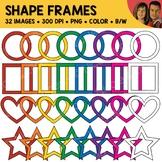 Shape Frame Clipart 1