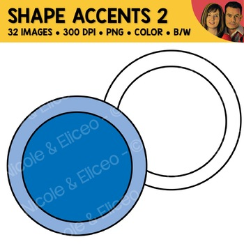 Shape Accents Clipart 2