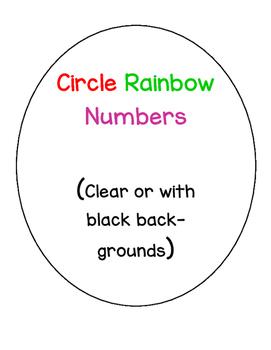 Rainbow Circle Numbers