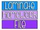 Rainbow Classroom- 3 Drawer Sterilite Labels for Classroom Decor
