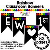 Rainbow Classroom Banners