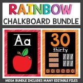 Rainbow Classroom Bundle Black