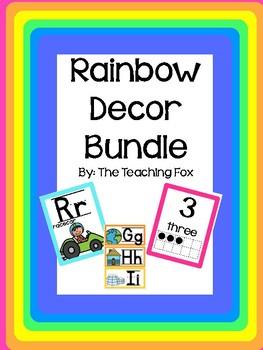 Rainbow Classroom Bundle {Growing Set}