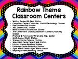 Rainbow Classroom Centers