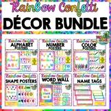 Rainbow Classroom Decor Bundle (Growing!)