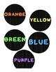 Rainbow Classroom Decor Circle-Polka Dot Edition