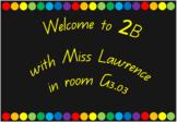 Rainbow Classroom Decor/Display Set - 30 displays!
