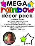 Rainbow Classroom Decor Mega Pack