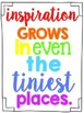 Rainbow Classroom Quote Subway Art Posters