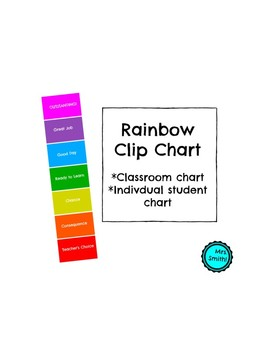 Rainbow Clip Chart