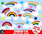 Rainbow Clipart - UZ872