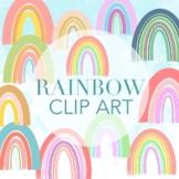 Rainbow Clipart by Taracotta Sunrise