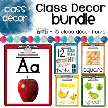 Rainbow Class Decor Bundle