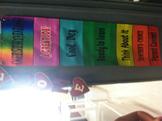 Rainbow Clipchart