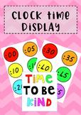#AUSBTS18 Rainbow Clock numbers