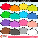 Rainbow Cloud Clip Art