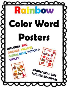 Rainbow Color Charts