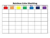 Rainbow Color Matching