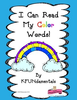 Rainbow Color Sight Words : Spring , Open House , St. Patrick's Day , Etc.
