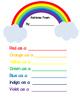 Rainbow Color Word Poem