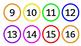 Rainbow/Colorful Classroom Numbers/Calendar