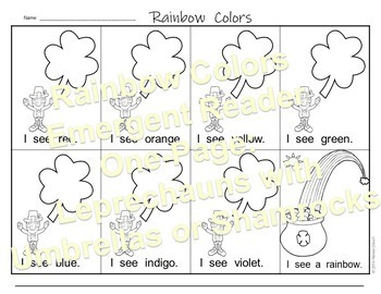 Rainbow Colors - Rainbow Lesson and Printables