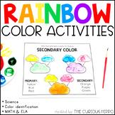Rainbow Colors Kindergarten Pack