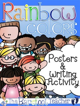 Colors: Posters (13 Total) & Writing Activity