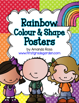 Rainbow Colour & Shape Posters