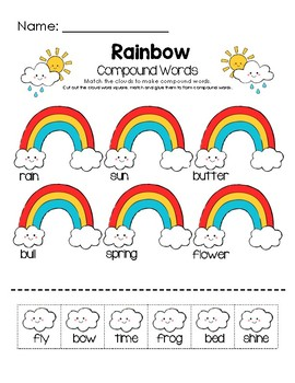 Rainbow Compound Words