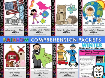 Rainbow Comprehension Text Based Evidence Bundle