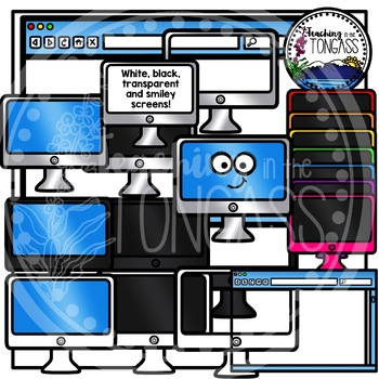 Rainbow Computer Clipart