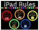 Rainbow Computer Rules Poster