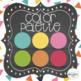 Rainbow Confetti & Chalkboard Complete Classroom Decor Set