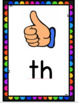 Rainbow Consonant Digraph/Blends Posters (Preview)
