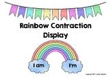 Rainbow Contraction Display