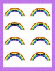Rainbow Contraction File Folder Game