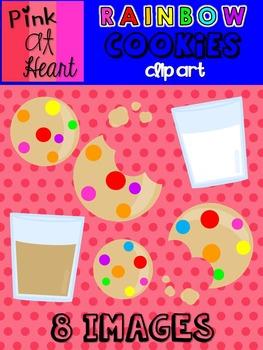 Rainbow Cookies Clip Art
