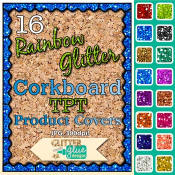 Corkboard Product Covers Clip Art {Design Teachers Pay Teachers Resources} 2