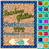 Corkboard Product Covers Clip Art: TPT Store Graphics 2 {G