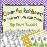 St. Patrick's Day Game Roll and Cover Rainbows