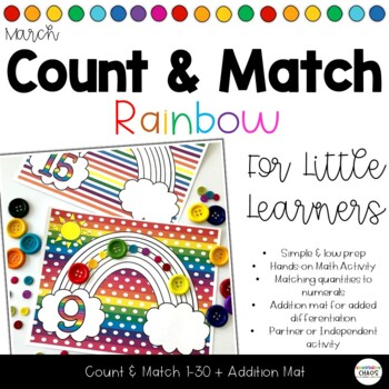 Rainbow Counting Mats for Count and Match Game