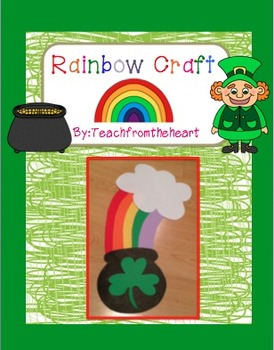 Rainbow Craft ( A St. Patrick's Day craft)
