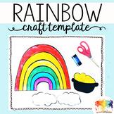 Rainbow Craft Template