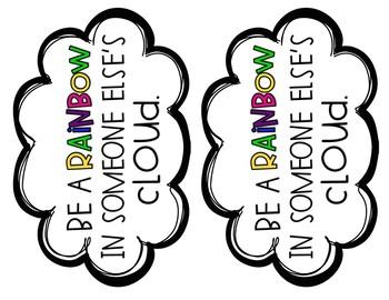 Rainbow Writing Craft