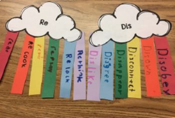 Rainbow Craft for Speech Therapy